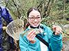 釣り美女性達、瀬戸彩華さんです