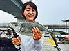 釣り美女性達、吉川亜樹さんです