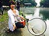 釣り美女性達、太田英里さんです