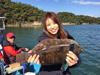 釣り美女性達、佐々木麻美さんです