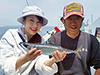 釣り美女性達、吉田みのりさんです