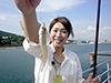 釣り美女性達、中倉真梨子さんです
