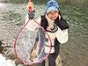 釣り美女性達、青木友香さんです
