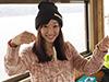 釣り美女性達、藤田舞美さんです