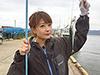 高木由紀、釣り人写真