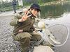 井澤詩織、釣り人写真