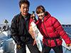 谷中美希、釣り人写真