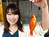 青山ハル、釣り人写真