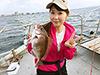 森田茉莉花、釣り人写真