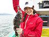 進藤麻理奈、釣り人写真