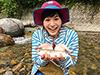 菖蒲理乃、釣り人写真