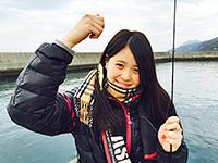 女子釣り、 渡部真美