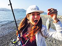 女子釣り、 望月美佐