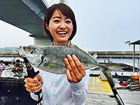 女子釣り、 吉川亜樹