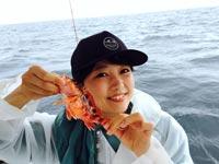 女子釣り、 川崎 優