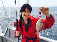 女子釣り、 高橋桃子