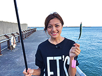 女子釣り、 北村沙織