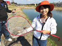 女子釣り、 今井春花