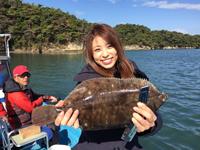 女子釣り、 佐々木麻美