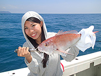 女子釣り、 RIN
