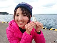 女子釣り、 北川莉子