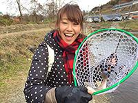 女子釣り、 高橋友希