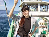 女子釣り、 YUMIKA