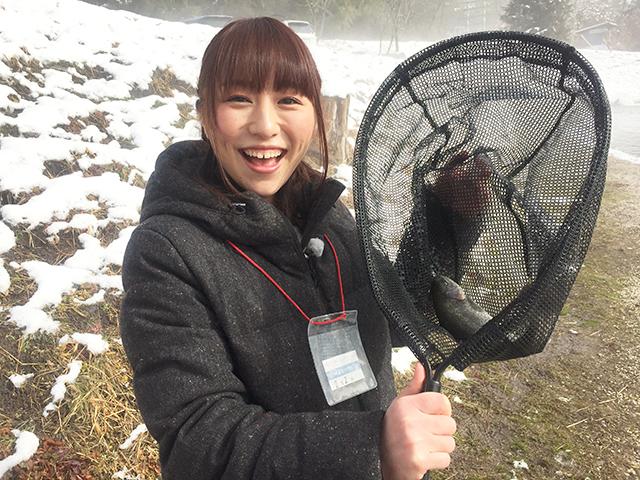 女子釣り、 香坂きの