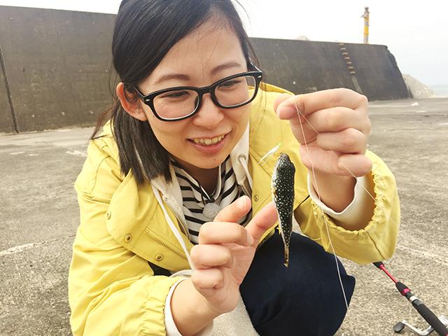 女子釣り、 齋藤 梓