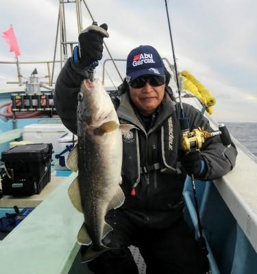 佐々木釣具店 平進丸の2019年1月10日(木)1枚目の写真
