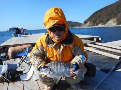 由良海つり公園&釣堀ランドの2019年1月13日(日)1枚目の写真
