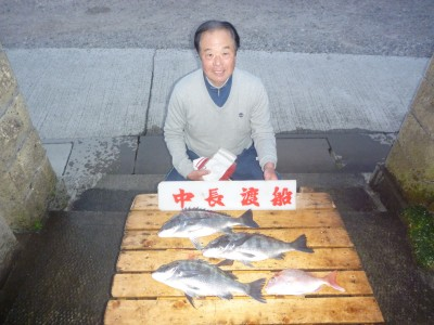 中長渡船の2019年1月14日(月)2枚目の写真