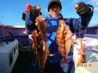 第十五隆栄丸の2019年1月14日(月)1枚目の写真