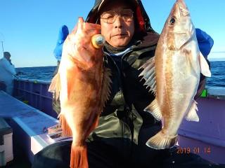 第十五隆栄丸の2019年1月14日(月)3枚目の写真