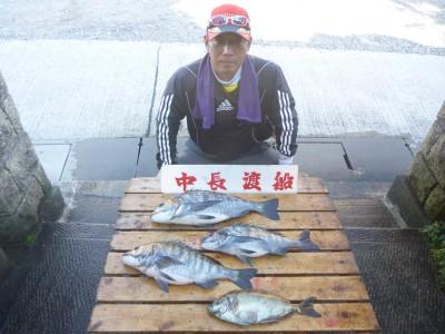 中長渡船の2019年1月19日(土)1枚目の写真
