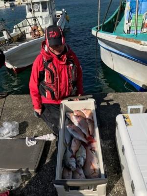釣り船 黒潮丸の2019年1月23日(水)1枚目の写真