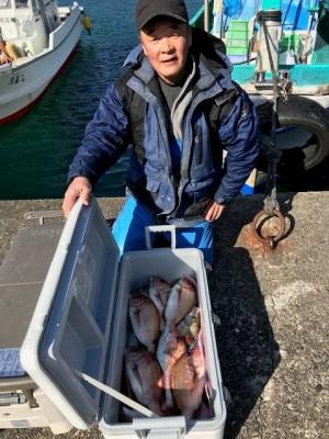 釣り船 黒潮丸の2019年1月23日(水)2枚目の写真