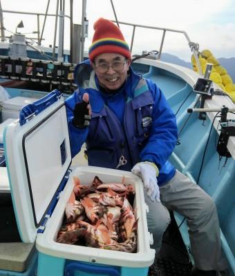 佐々木釣具店 平進丸の2019年1月23日(水)1枚目の写真