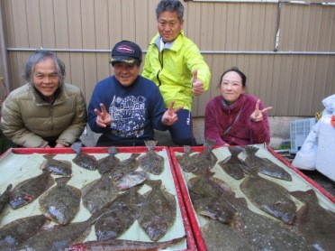 奥村釣船の2019年1月21日(月)1枚目の写真