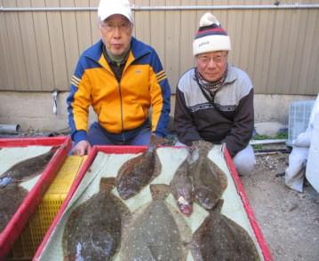 奥村釣船の2019年1月21日(月)2枚目の写真