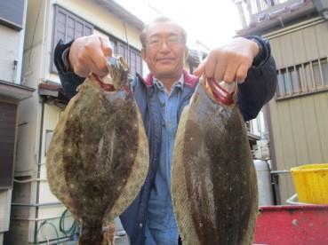 奥村釣船の2019年1月23日(水)1枚目の写真