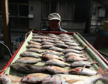 奥村釣船の2019年1月24日(木)1枚目の写真