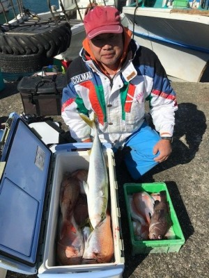 釣り船 黒潮丸の2019年1月30日(水)1枚目の写真