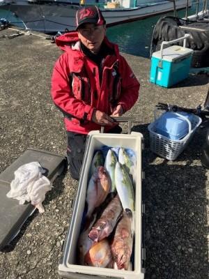 釣り船 黒潮丸の2019年1月30日(水)2枚目の写真