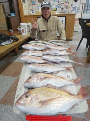 丸銀釣りセンターの2018年12月23日(日)4枚目の写真