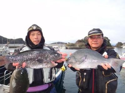 丸銀釣りセンターの2018年12月31日(月)5枚目の写真