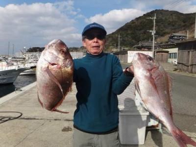 丸銀釣りセンターの2019年1月22日(火)2枚目の写真