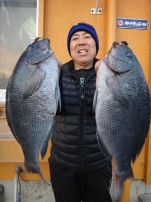 丸銀釣りセンターの2019年1月23日(水)3枚目の写真