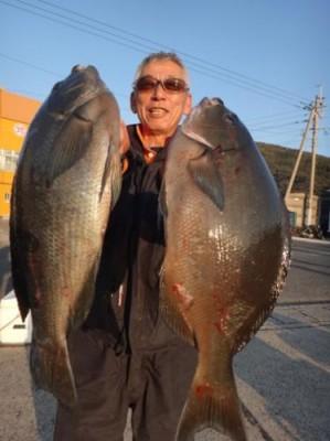 丸銀釣りセンターの2019年1月24日(木)2枚目の写真