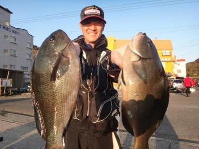 丸銀釣りセンターの2019年1月24日(木)3枚目の写真
